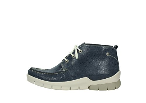 90820 Misty up Wolky Denim Lace Comfort Nubuck Boots CXwxExSq