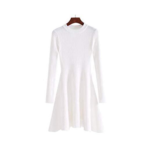 Maglioni One Maglieria Home Costine Maglia Size Femme Maglione Hiver Donna Lungo Di A Pullover Pull Knitwear White Autunno Red Size color Ladies Collo Inverno O Mon5f Natale Wine 6zAwq4q
