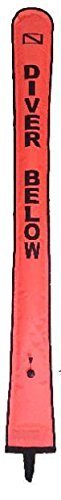 Storm open-cell Large Surface Marker Buoy – 6 ft – Orange by Storm Zubehör