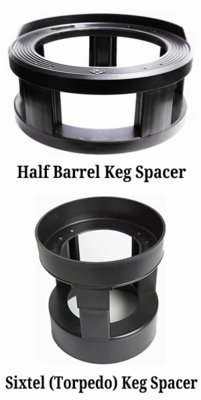 Alcohol Controls - Keg Spacers , Half Barrel (Most Common)