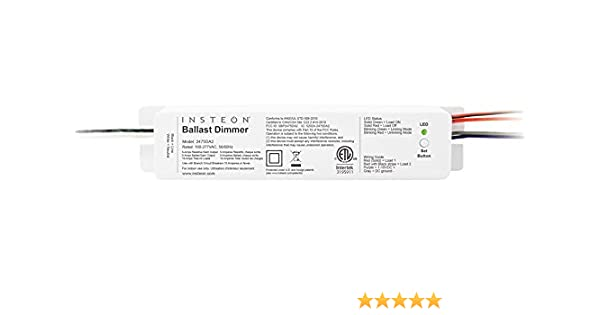 insteon 2475da2 0 10vdc dual band ballast dimmer plug in dimmerinsteon 2475da2 0 10vdc dual band ballast dimmer plug in dimmer switches amazon com