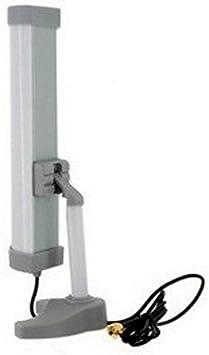 Antena WIFI Direccional Panel hasta 5Km reflector SINMAX SI-2410B EXTERIOR O INTERIOR CABLE SMA 80Cm -- DIRECTIONAL 2.4GHz 10dBi Back Reflection ...