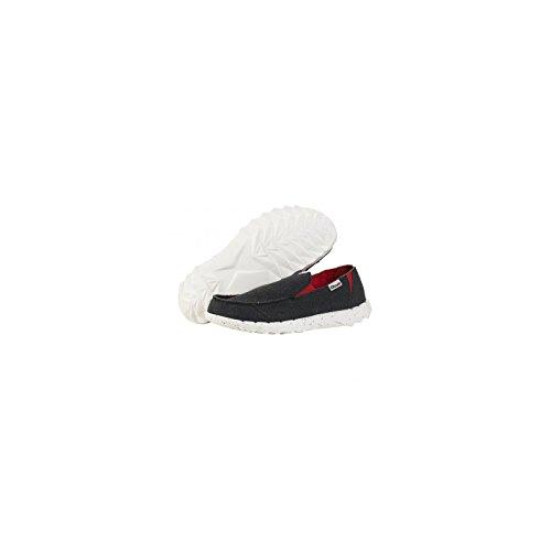Hey Dude Shoes Men's Farty Funk Black Red Slip On / Mule UK12 / EU46 g7rc0Ym6H