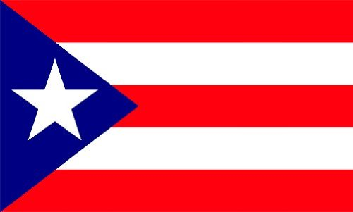 Puerto Rico flag 6ft x 10ft nylon Flag For Sale
