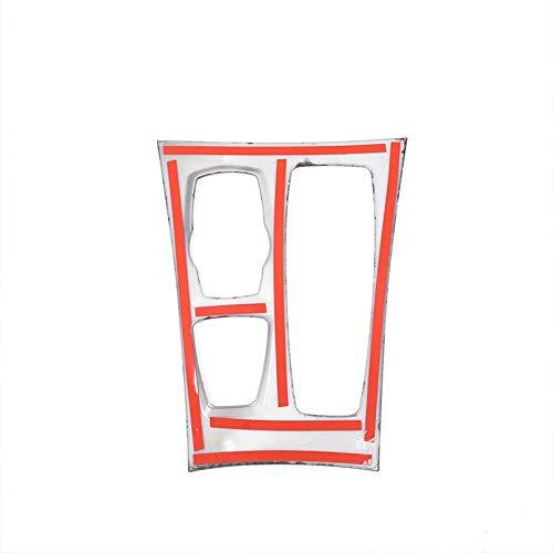 REFURBISHHOUSE Adesivi in ??Fibra di Carbonio Decorativi Cover Trim Strip per Il Pannello di Controllo del Cambio di Marcia per Auto X5 E70 2008-2013 Lhd