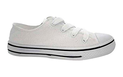 KRIPTON Women's Zapatillas West Baja Fitness Shoes White (White) 5qWi3Fl