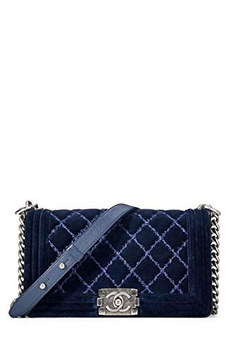 Blue Chanel Handbag - 8