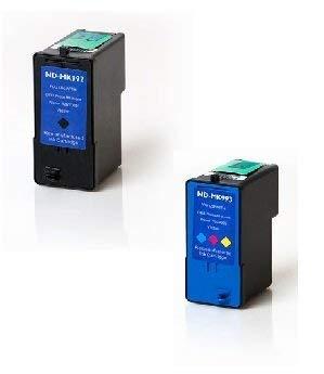 (Nar Cartridges Dell Series 9 / MK992 / MK993 (926 / V305) Compatible Jumbo (105% Higher Yield) Ink Cartridges (Black & Color))