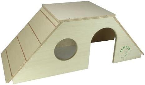 Elmato 10027 - Castillo de Juegos para Conejos (con 2 escaleras): Amazon.es: Productos para mascotas
