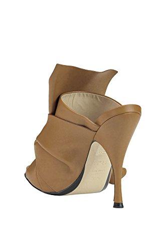 N°21 Chaussures MCGLCAT03122E Femme Marron Talons Cuir À rwSrxq4vI