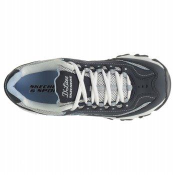 mujer BKW deporte Blue Skechers Navy para White Zapatillas 11422 de Light nCwwOqT5Y