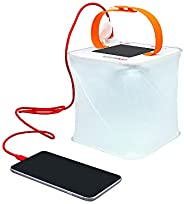 LuminAID PackLite Max 2-in-1 Camping Lantern and Phone Charger | for Backpacking, Emergency Kits and Travel |