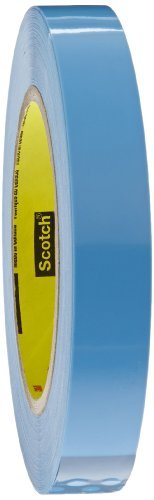 Scotch Film Strapping Tape 8896 Blue, 18 mm x 55 m (Case of 48) by Scotch
