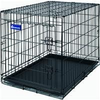 Aspen Pet Home Training Wire Crate, Black - 48x30x33\