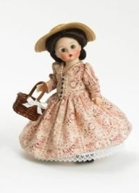 (Madame Alexander 8 Inch Gone With the Wind Collection Doll - In The Cotton Fields Scarlett)