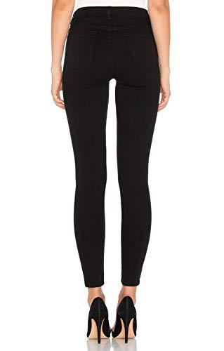 Dylh Pantalones Negro up Elástico Push Para Skinny Mujer Azul Vaquero 6rtfq16