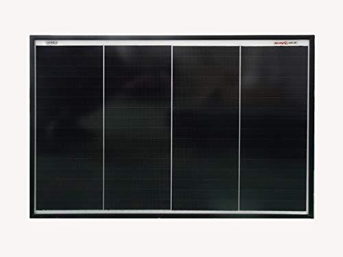 enjoysolar® Monokristallin Solarmodul Mono Solarpanel mit neuartiger Schindeltechnologie