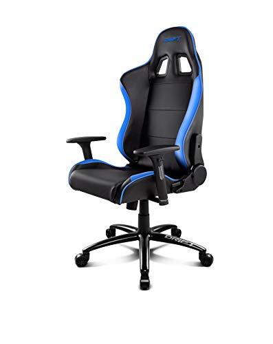 Drift DR200BL - Silla Gaming Profesional, (Polipiel Alta Calidad, Ergonomica), Color Negro/Azul