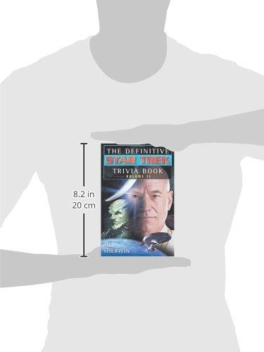 The Definitive Star Trek Trivia Book Volume Ii Jill Sherwin