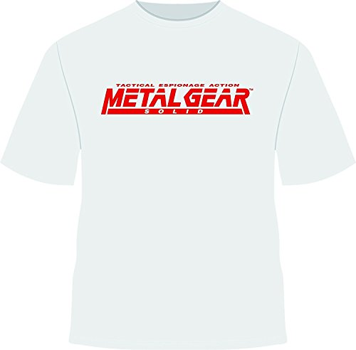 jinbaolong Metal Gear Solid, Costum Tshirt Small,WhiteMedium,White