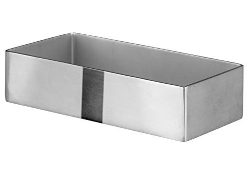 Winco DDSG 101S Rectangular Stainless Tabletop