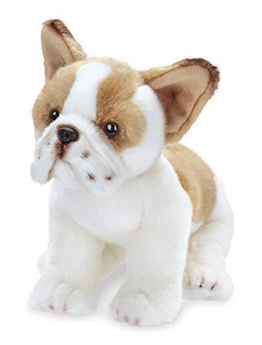Animal Bulldog - Bearington Collection Frenchie Plush Stuffed Animal French Bulldog Puppy Dog, 13 inches