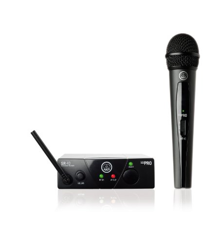 - AKG Pro Audio WMS40 Mini Vocal Set BD US45C Wireless Microphone System