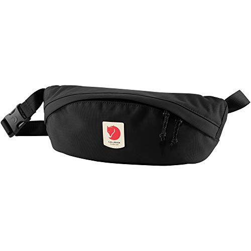 Fjallraven - Ulvo Hip Pack Medium, Waterproof Fanny Pack for Everyday Use and Travel, Black]()