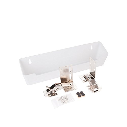 Hardware Resources TO11-R Wide Sink Tipout Tray Pack, White by Hardware Resources
