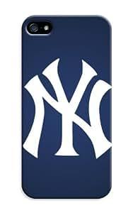 Mlb New York Yankees Print Hard PC Case For Iphone 5/5S - For Baseball Fans