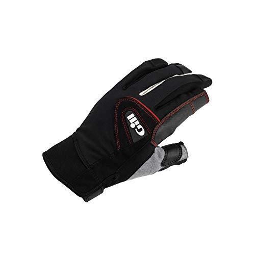 - Gill Men's 7252 Long Finger Champion Sailing Glove, Black, Large