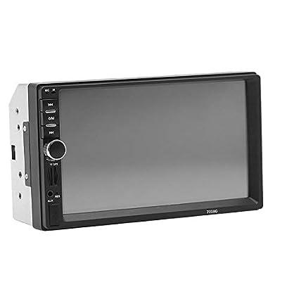 TOOGOO 2 DIN Reproductor Multimedia para Coche 7018 NavegacióN GPS ...