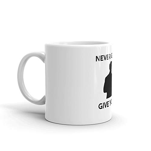 Rick Astley - Never gonna give you up 11 Oz Ceramic