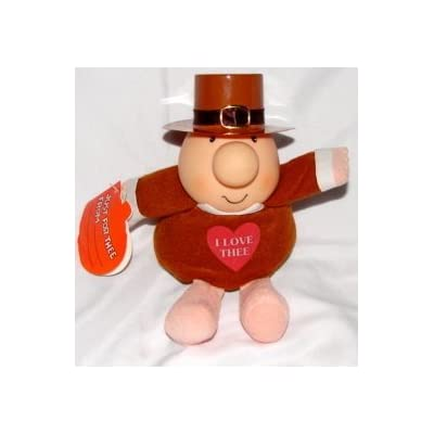 "Forget Me Not 7"" Thanksgiving Pilgrim Bean Bag Ziggy Plush: Toys & Games"