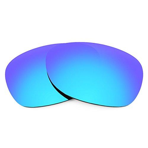 Verres de rechange pour Ray Ban New Wayfarer 52mm RB2132 — Plusieurs options Polarisés Elite Bleu Glacier MirrorShield®
