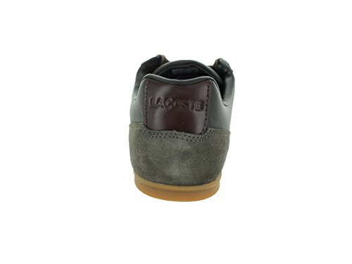Lacoste Mens Figuera 3 Srm Casual Shoe Brown Leather/Suede RfvVThjex