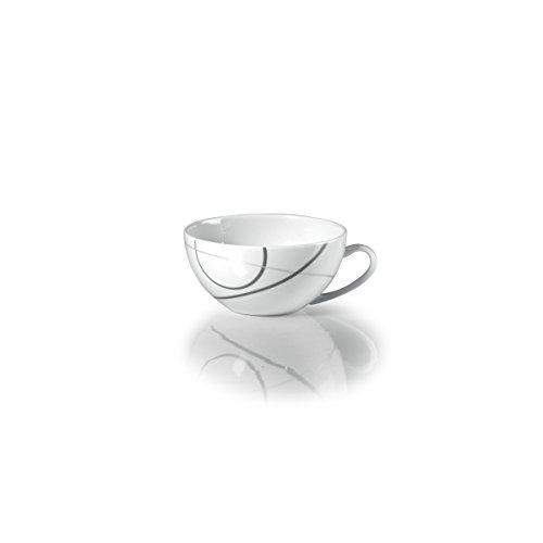 Mikasa Teacup - Mikasa Geometric Circles Teacup, 10-Ounce
