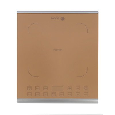 15'' Induction Cooktop with 1 Burner Finish: Caramel