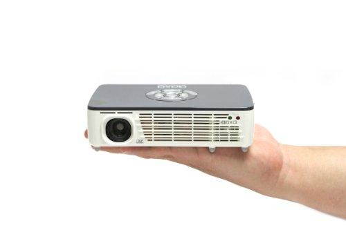 AAXA P450 Pico/Micro LED Projector, WXGA 1280×800 Resolution, 450 Lumens, Pocket Size, HDMI, Mini-VGA, 15,000 Hour LED Life, Onboard Media Player, DLP (Refurbished)