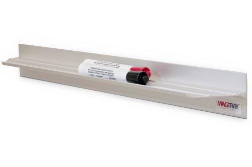 "18"" Magnetic Aluminum Marker Tray"