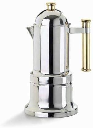 Vev Vigano 8010 Kontessa oro 12-cup cafetera, jardín, césped, Mantenimiento: Amazon.es: Jardín