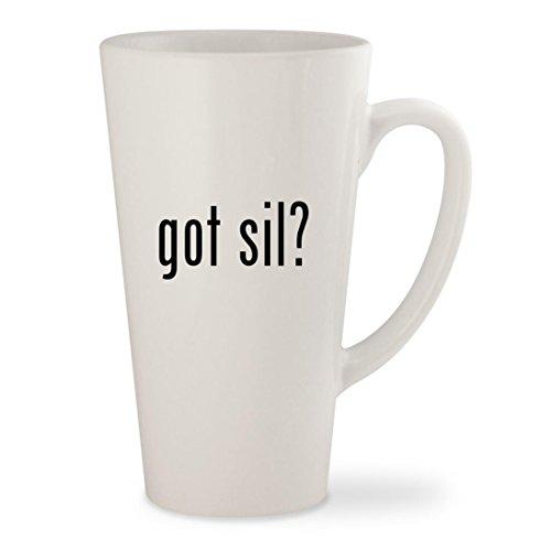 Got Sil    White 17Oz Ceramic Latte Mug Cup