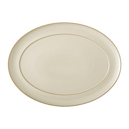 Denby Linen Oval Platter -