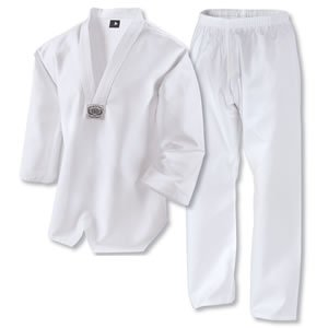 Century Martial Arts Lightweight Taekwondo Student Uniform - White, 4 - Adult Medium