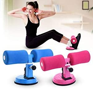 Cartshopper Home Fitness Equipment Sit-ups and Push-ups Assistant Device Lose Weight Gym Workout Abdominal curl Exercise with Suction Cup