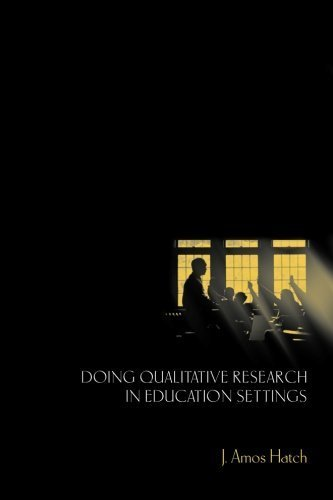 Doing Qualitative Research in Education Settings by Hatch, J. Amos (2002) Paperback pdf
