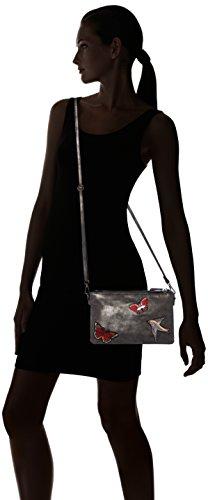 bags S Negro 710 94 39 oliver Mujer Bolsos greyblack Bandolera 6034 4PqaF