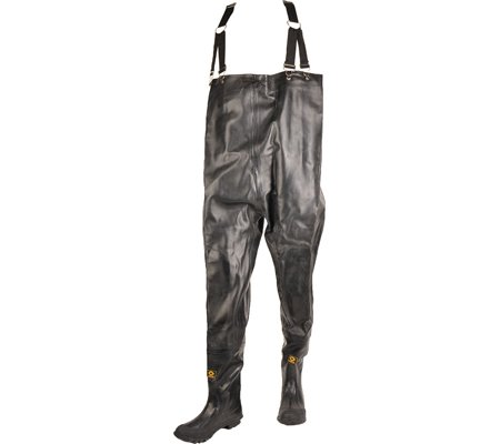 Herco Heavy Duty Rubber Chest Waders - Men's Size 16 (Black) by Unknown (Image #4)