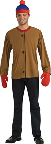 Rubies Mens Deluxe Tv Characters Stan Park South Theme Party Dress Costume, One Size