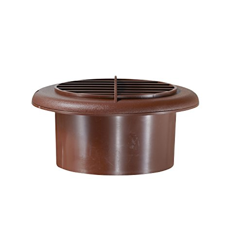 RV Designer H805 Provent Dampened Vent - Walnut